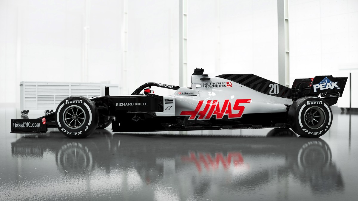 Haas Becomes First F1 Team To Reveal Images Of Its 2020 Car F1 Autosport