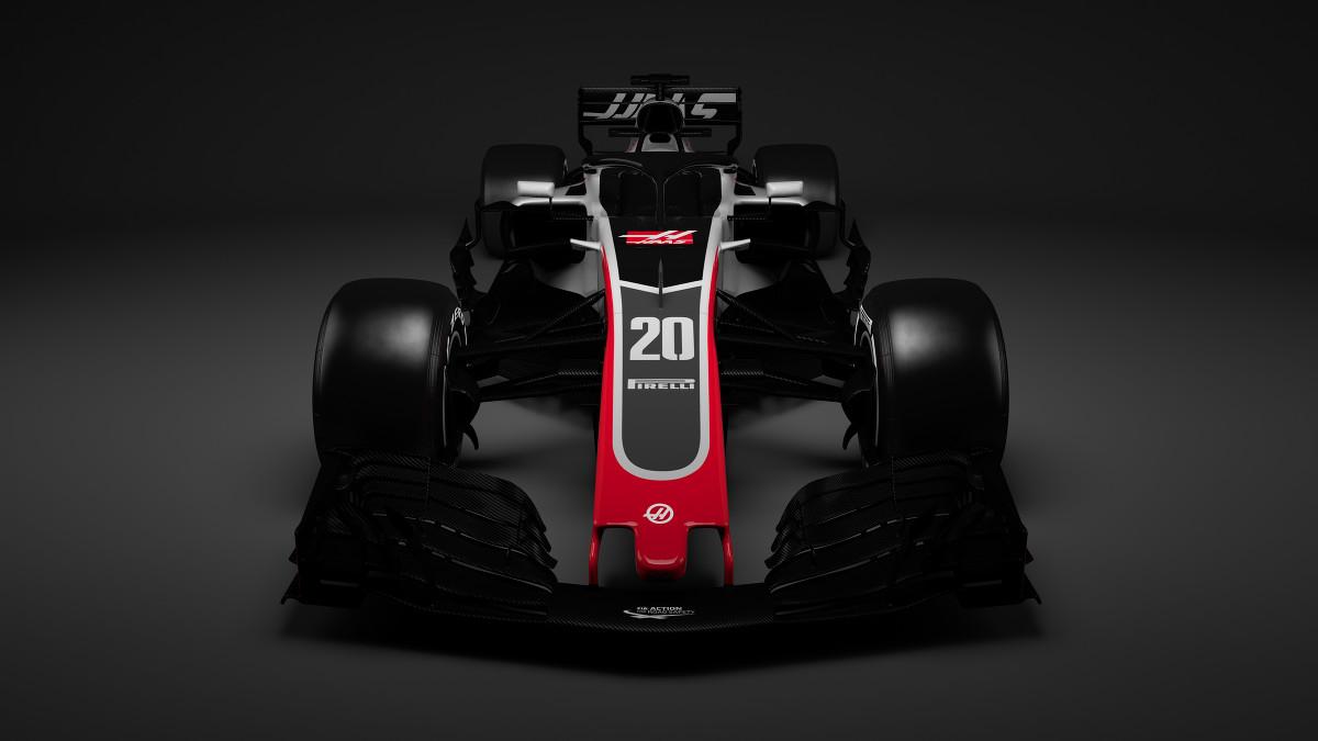 Haas F1 launch: First 2018 Formula 1 car revealed - F1 - Autosport