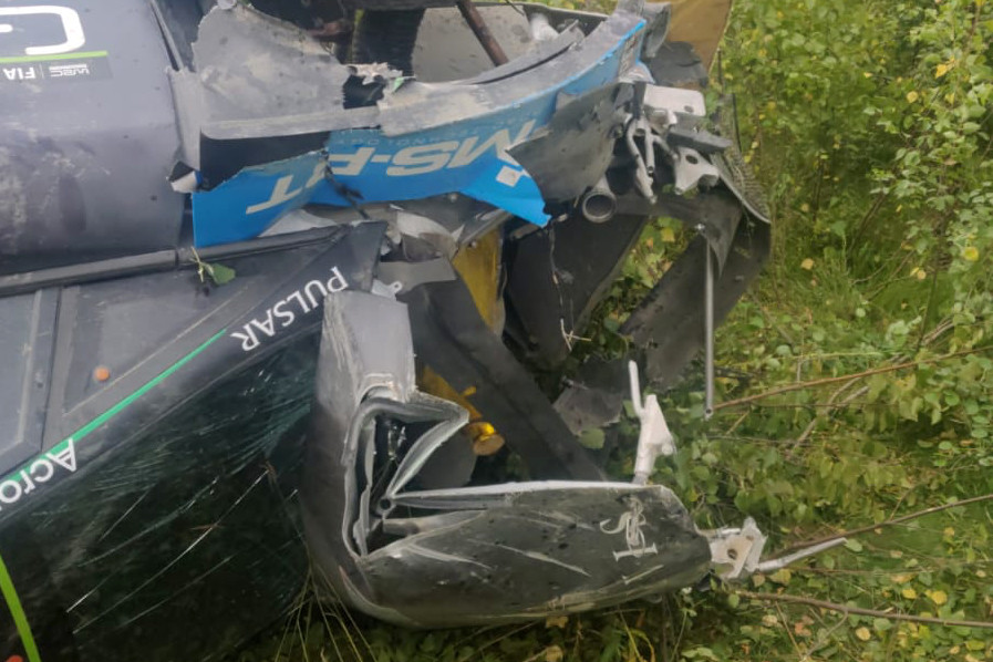 Paddon says he couldn't avoid crash that prevented his WRC return